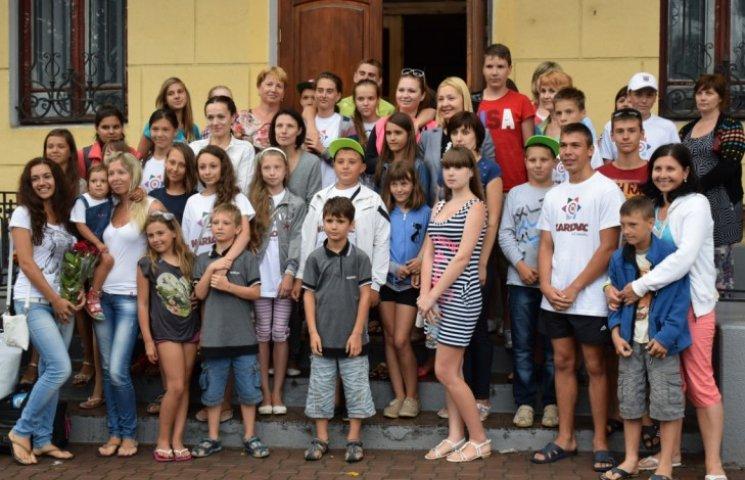 У Хорватії відпочинуть 45 дітей переселенців та миколаївських АТОшників