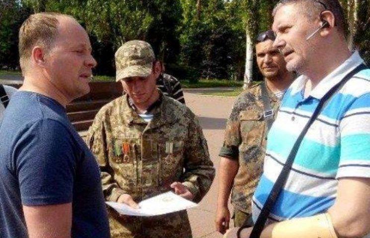 В Николаеве инвалиды АТО требуют, чтобы Барна сложил депутатский мандат