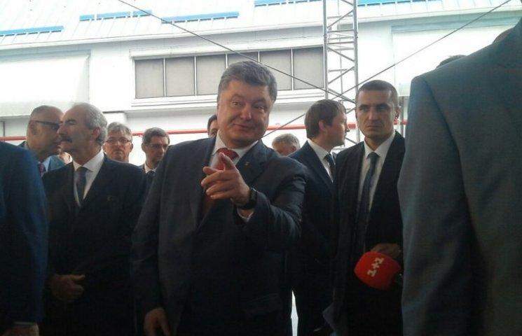 Ніякого корупційного скандалу у Миколаєві не було, - Порошенко