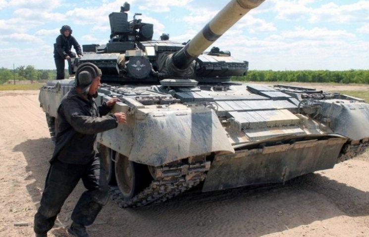Як на Житомирщині тренуються танкісти