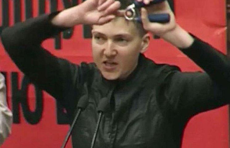 """Савченко рассказала, как занимается """"послетюремной"""" реабилитацией в Раде"""