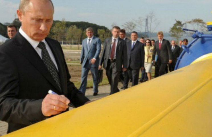Путін назвав умову подальшого транзиту газу через Україну