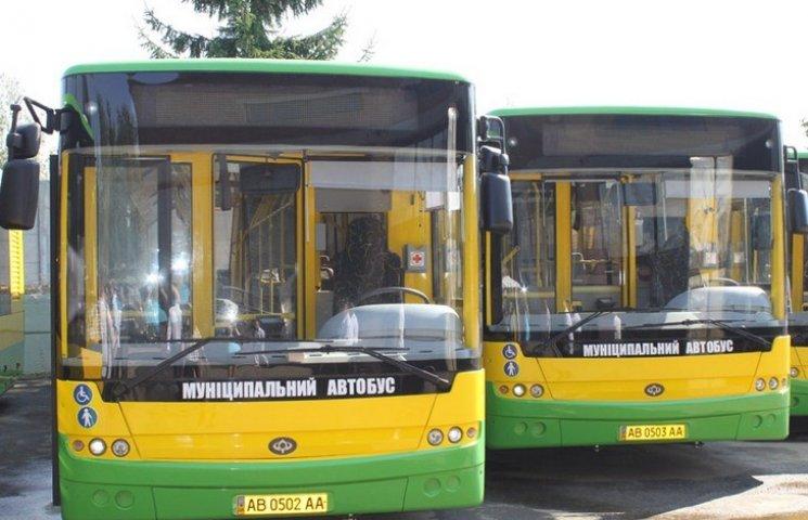 Сьогодні у Вінниці курсуватиме безкоштовний автобус