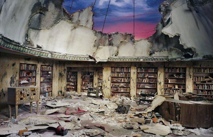Фотограф в світлинах демонструє світу апокаліпсис
