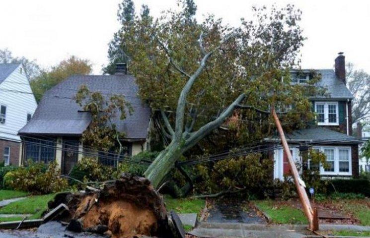 Хмельнитчиной пронесся разрушительный ураган
