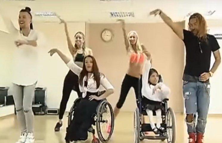 Хмельницька дівчинка-візочниця станцювала з відомими танцюристами (ФОТО, ВІДЕО)