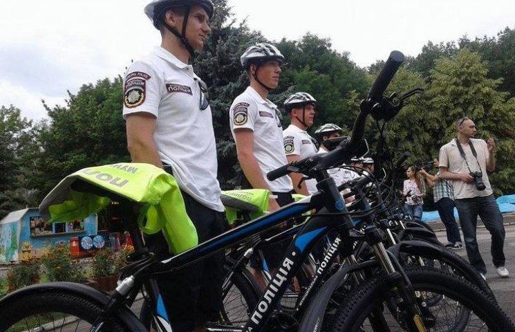 Відсьогодні Вінницька муніципальна поліція патрулюватиме на роверах