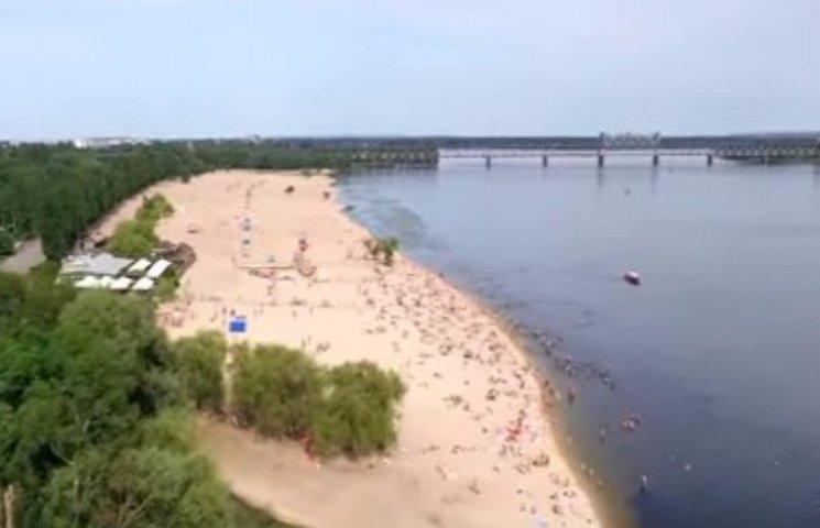 Один з найкращих пляжів Полтавщини заріс латахами