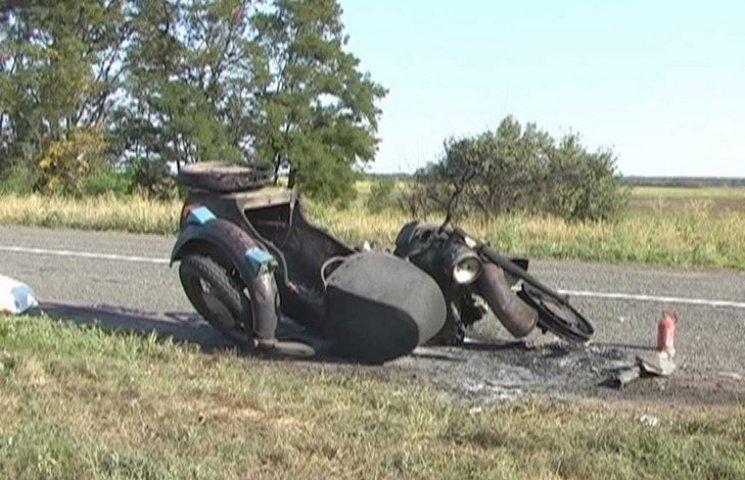 """Вінничанин на вкраденому мотоциклі """"прокатав"""" двох малоліток до реанімації"""