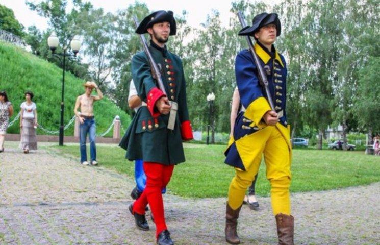 Гарматними пострілами відзначили роковини Полтавської битви