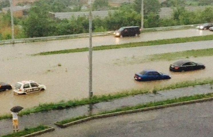 У Вінницькій міськраді розповіли про причини та наслідки учорашнього потопу