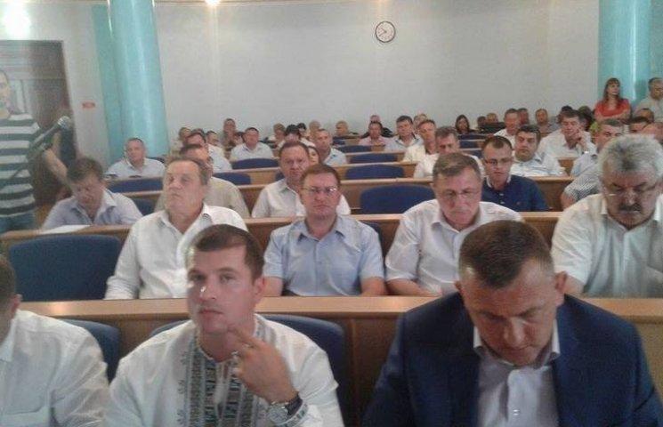 Депутати облради утворили міжфракційне об