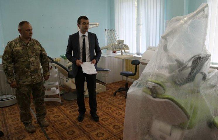 У Хмельницькому військовому госпіталі нове обладнання