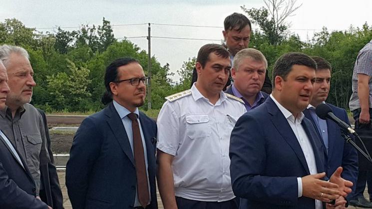 Гройсман озвучил потери отугольной блокады Донбасса