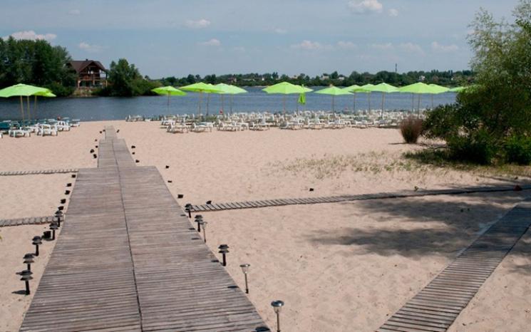 Наяких пляжах Києва можна купатися в2017