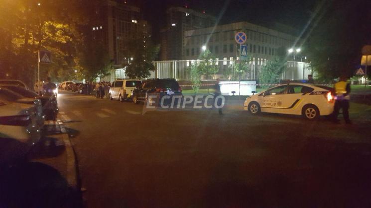 У Києві у посольстві США пролунав вибух…