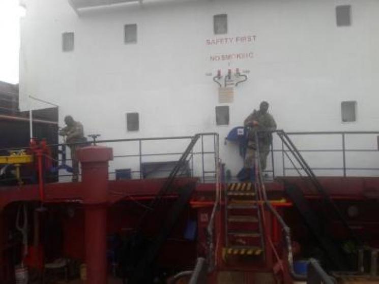НаОдещині затримано судно, яким незаконно переправляли моряків доКриму