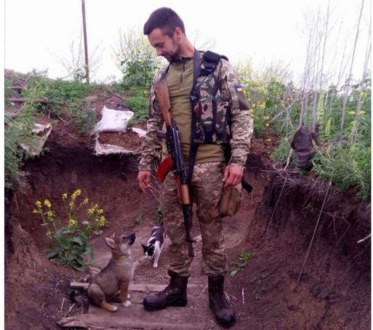 Чим займаються на Донбасі найкращі друзі бійців АТО - 22