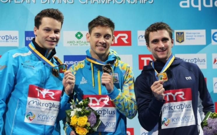 Українець Кваша виграв «золото» чемпіонату Європи зі стрибків уводу