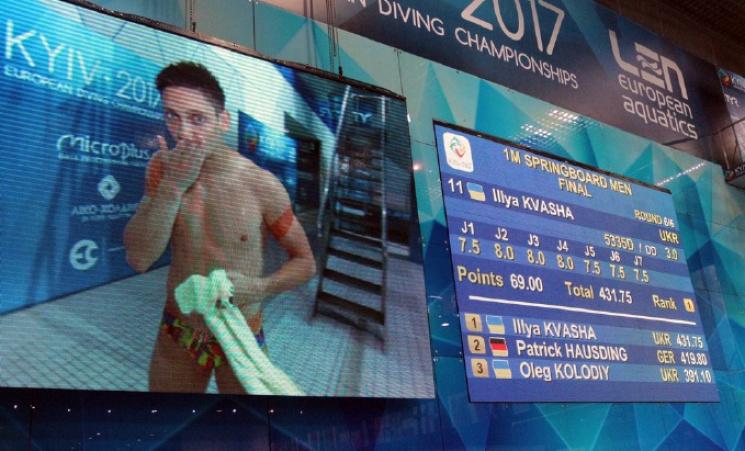 Українець Кваша став чемпіоном Європи зі стрибків уводу