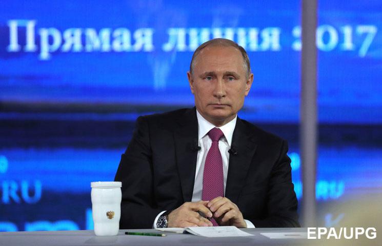 """Як Путін під час """"спілкування з народом"""" викликав дух Брєжнєва"""