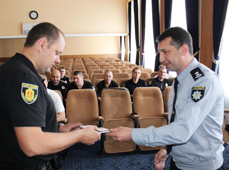 У Кропивницькому нагородили дільничних інспекторів, бо скоро в них свято