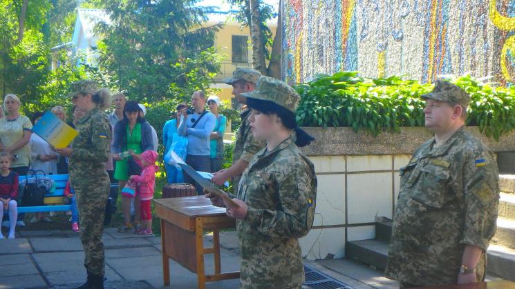 Вінницькі медсестри склали військову присягу
