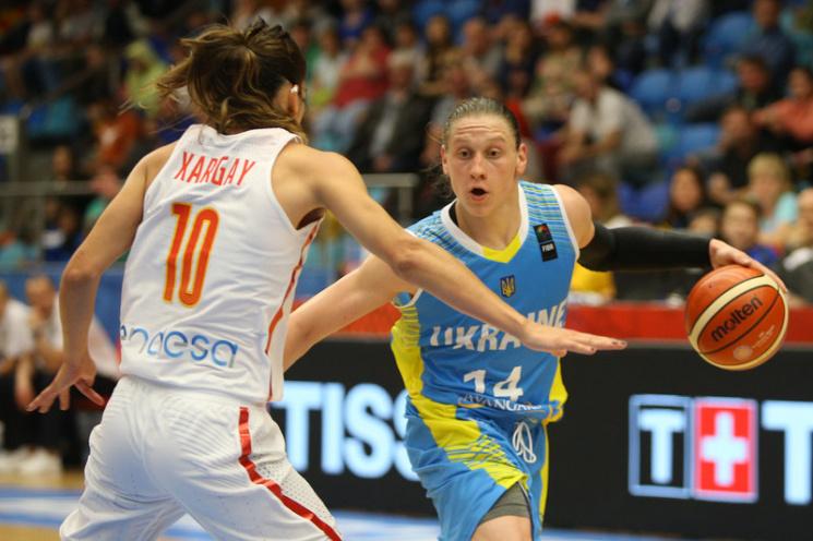 Жіночий Євробаскет-2017: Україна та Угорщина розіграють друге місце в групі