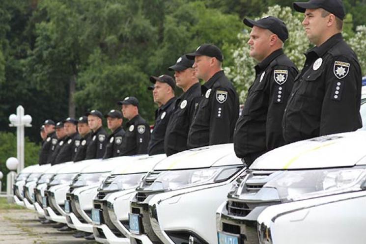 Вінницька поліція пересіла на нові колеса