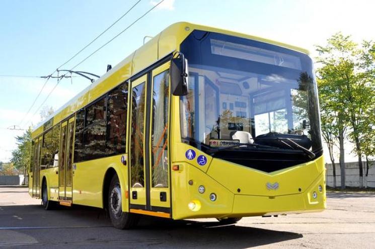 Білоруси поставлять 47 нових тролейбусів в Одесу
