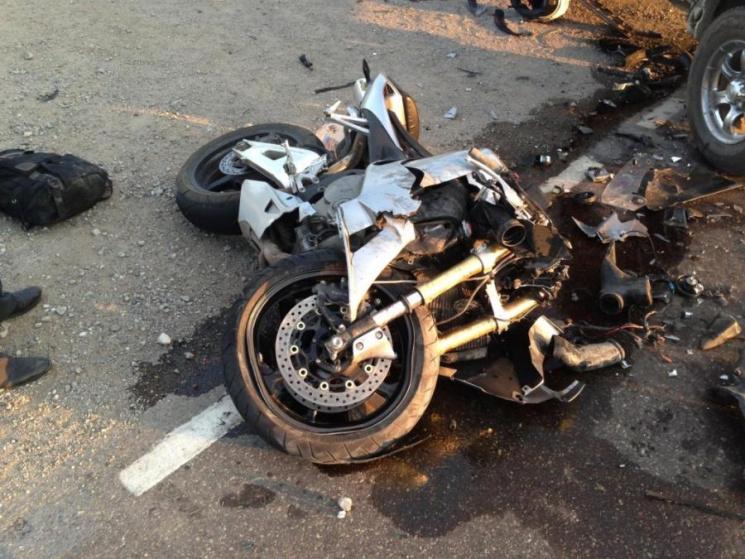 У ДТП в Хмельницькому районі загинув мотоцикліст