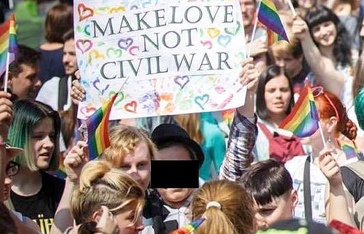 Чому Заліщук повинна відповісти за гей-парад