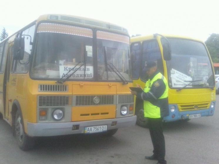 Рекордну кількість порушень в транспорті зафіксували на Хмельниччині