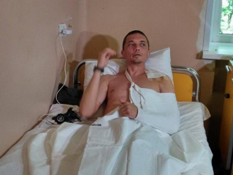У Дніпрі неушкоджений у АТО десантник потрапив під колеса маршрутки