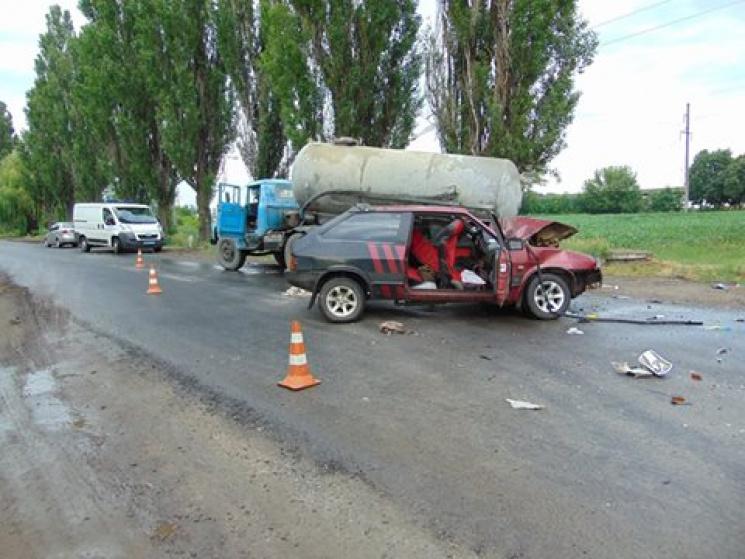 На Черкащині у ДТП одна людина загинула, шестеро - травмовані