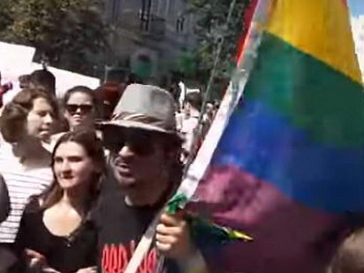 На гей-параді у Києві підтримали криворізьких шахтарів