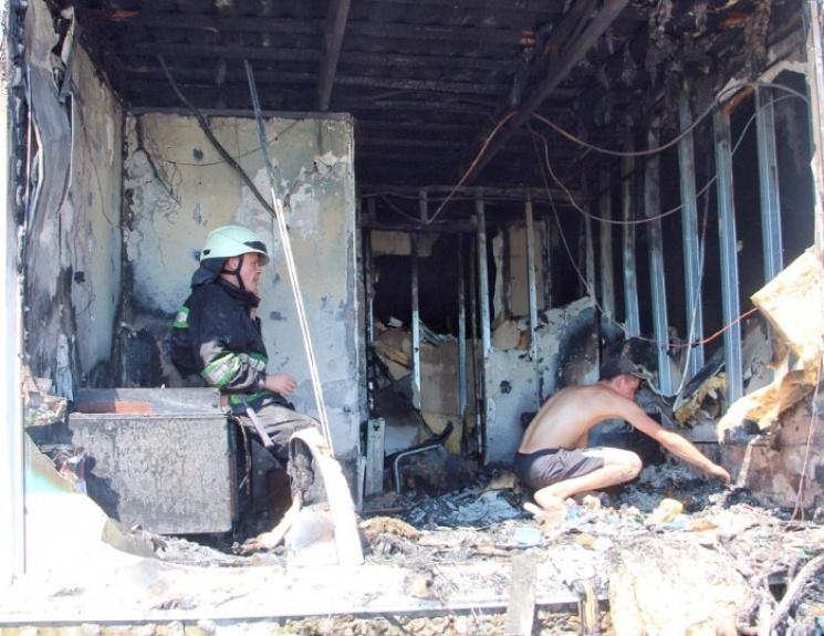 З'явилися фото пожежі в ресторані одеської Аркадії