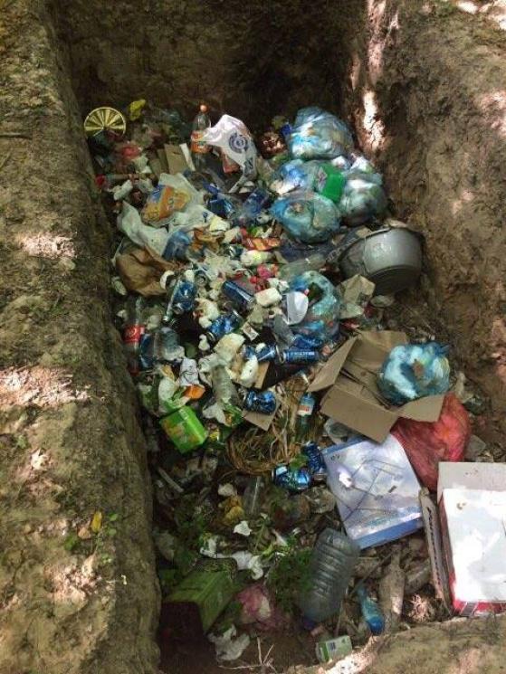 Вінничани закидають лісові масиви сміттям