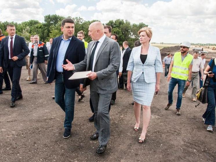 Прем'єр-міністр України перевірив дороги Полтавщини