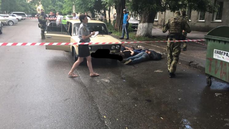 В Одесі спецпризначенці затримали озброєну банду
