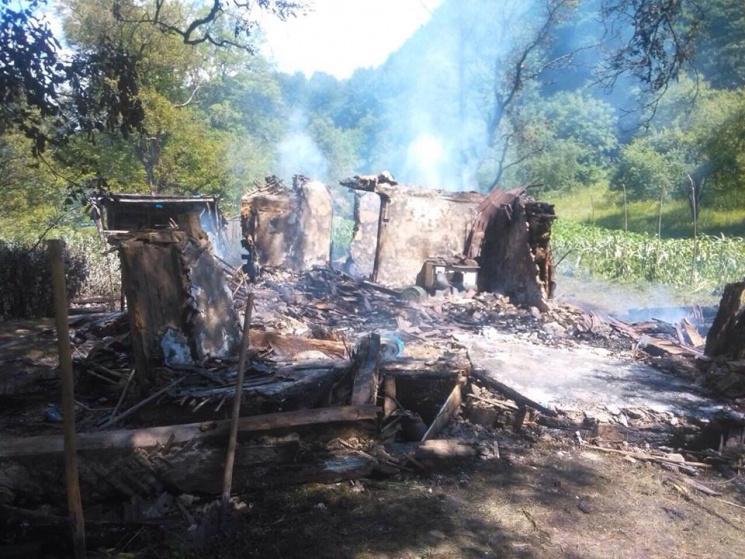 На Тячівщині у пожежі загинув чоловік