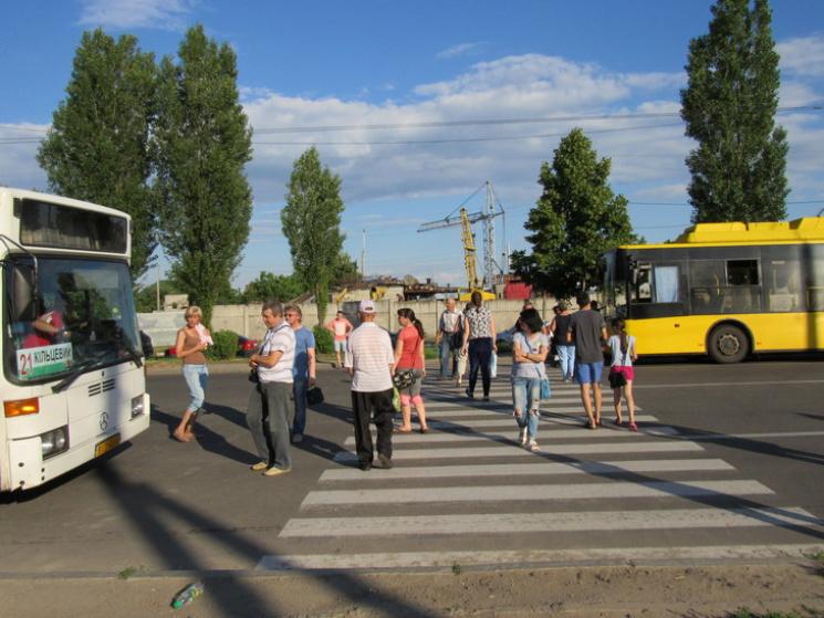 Полтавським протестувальникам повернули воду та світло