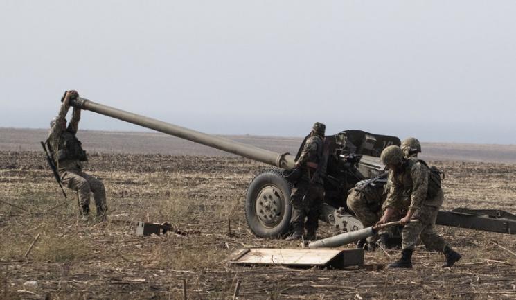 НаСвітлодарській дузі ліквідували позицію бойовиків: опубліковано відео