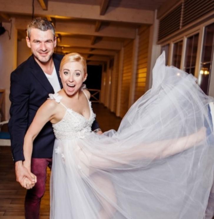 Новоспечене подружжя Мірзоян і Матвієнко…