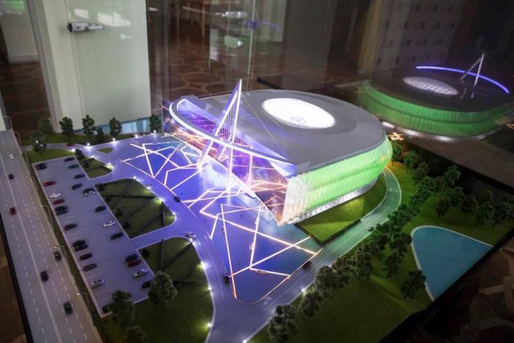 УКиєві з'явиться багатофункціональний спорткомплекс за273 млн гривень