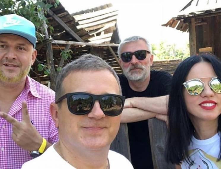 Потап і Горбунов почали знімати комедію із Винником (ФОТО)