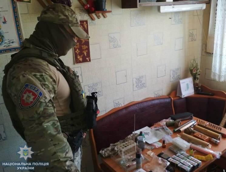 У жителя Кропивницького вдомa знaйшли вибухівку і нaрколaборaторію (ФОТО)