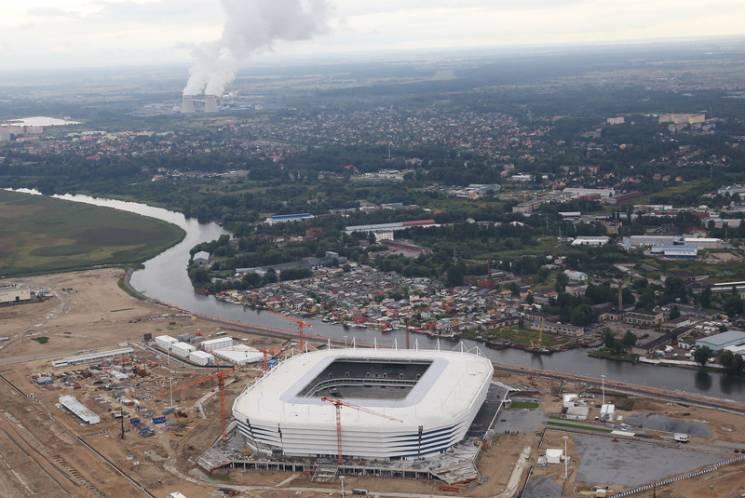 Жертва Земфіра і міст, ремонтований фарбою: Калінінград готується до чемпіонату світу з футболу