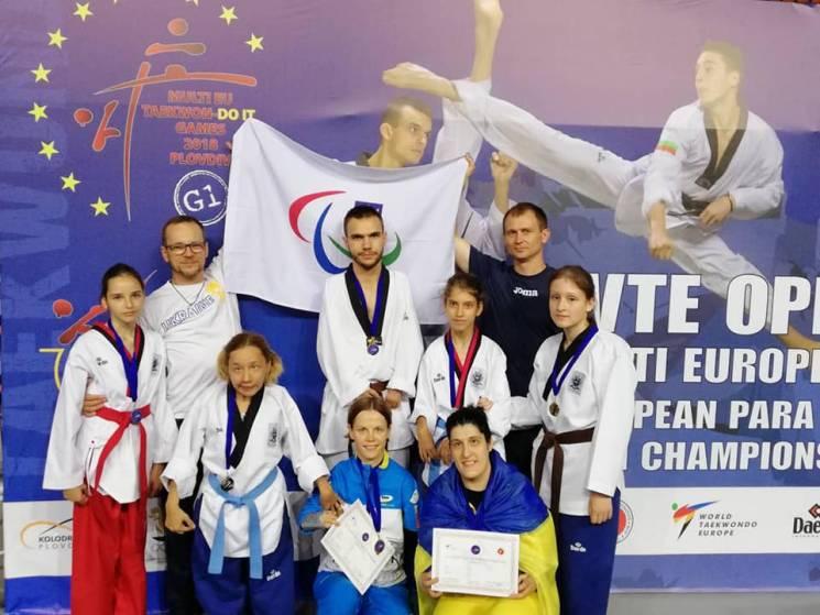 Запорізькі спортсменки здобули дві медалі на чемпіонаті Європи з паратхеквондо (ФОТО)