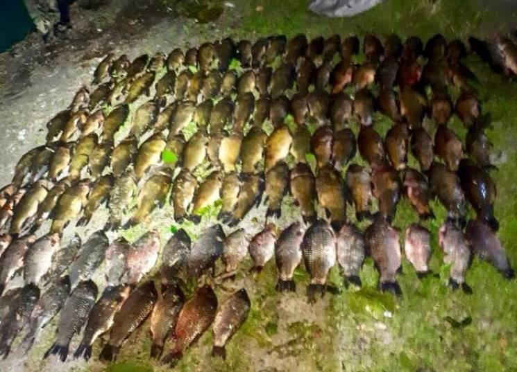 Понад 100 кг риби вилучили на Тернопільщині у браконьєрів (ФОТО)